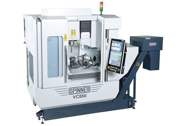 Das VC850-5A ist ein hochdynamisches 5-Achs-Bearbeitungszentrum für kleine bis mittelgroße 5-Achs-Anwendungen bei geringem Platzbedarf.