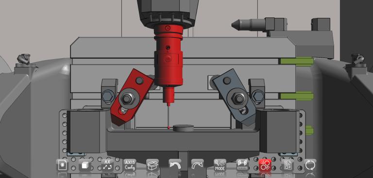 Überprüfung der Machbarkeit: CHECKitB4 FIRSTSTEP ermöglicht es, die Auswahl des Set-ups (Maschine, Werkzeug, Werkstück, Spannmittel) sowie die Optimierung der Produktivität im Vorfeld durchzuführen.