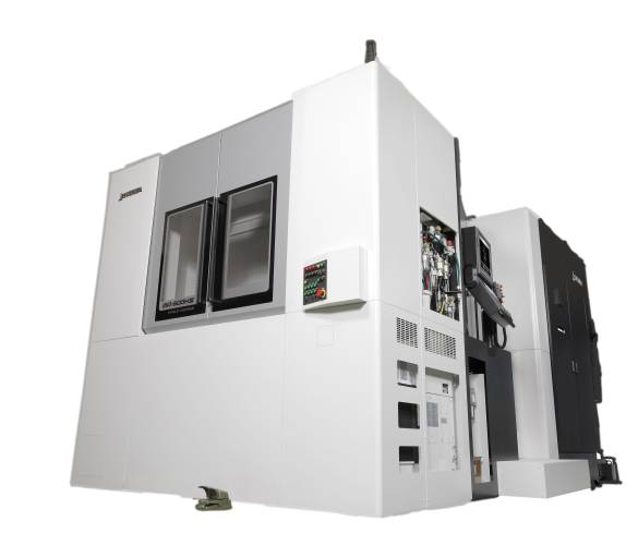 Mit dem horizontalen Bearbeitungszentrum MA-600HIII feiert Okuma auf der EMO Milano eine Weltpremiere.