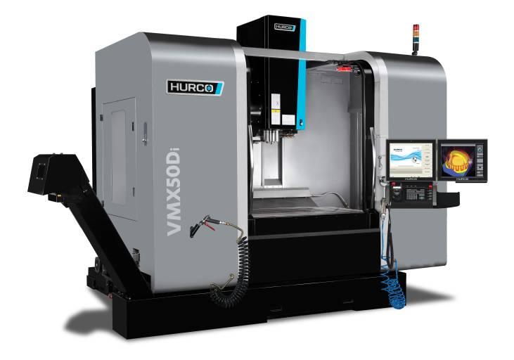 Das 3-Achs-Bearbeitungszentrum VMX 50 Di ist ausgelegt für die Zerspanung von Aluminium sowie für kleinteilige Bearbeitungen und die Fertigung filigraner Konturen an größeren Teilen.