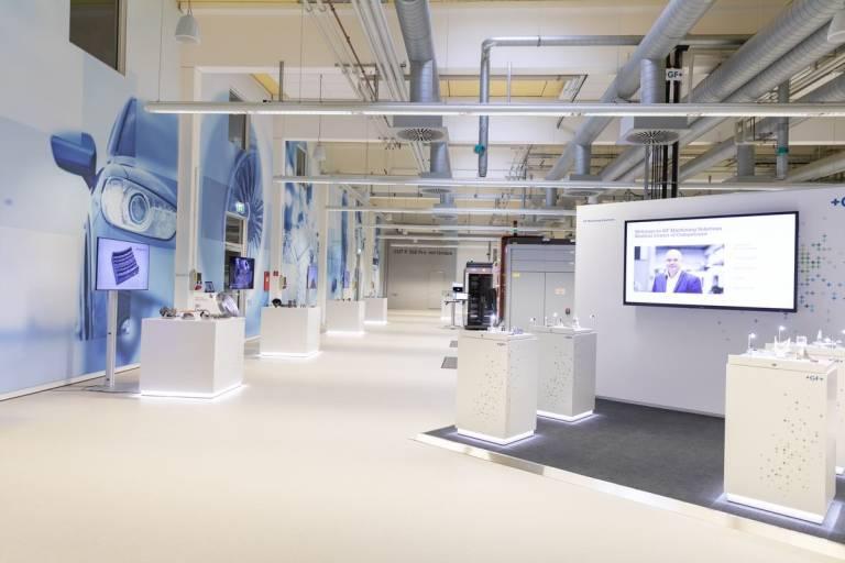Der Eingangsbereich des Medical Solutions Center.