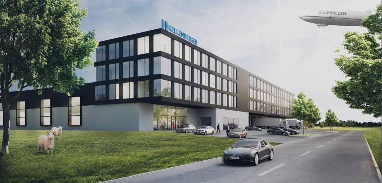 Der neue Kellenberger-Standort wird die Fertigung und Montage aller Marken an einem Ort vereinen und damit Synergien schaffen.