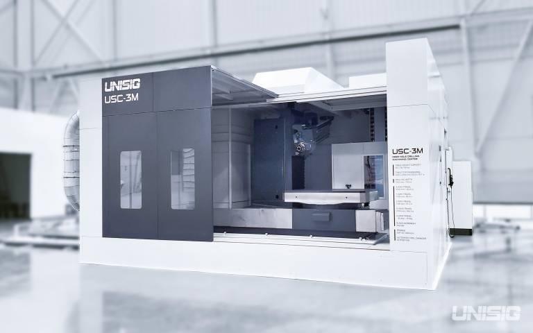 Die neuen Modelle USC-2M und USC-3M verfügen über einen starren, robusten Aufbau und Universalspindeln für die härtesten Anwendungen.