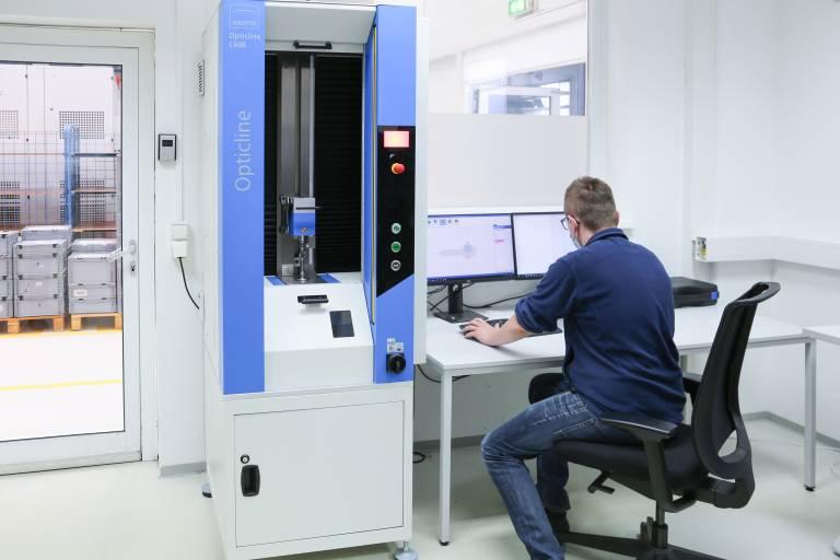 In Österreich war RO-RA der erste GGW-Kunde, der ein um einen taktilen T3D-Taster erweitertes Wellenmesssystem aus der Opticline-Produktfamilie bestellte.