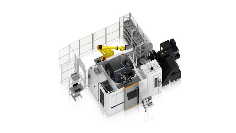 Die Mikron MILL P 800 U S ist hervorragend für die Automatisierung geeignet.